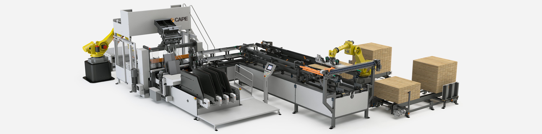 Mach 1 Base + Robot and feeder