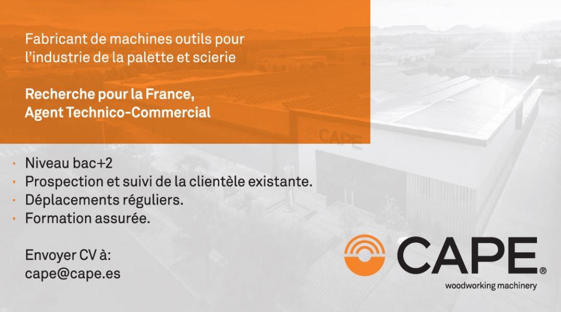 Cape – Agent Technico-Comercial